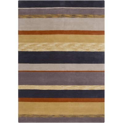Sanderson Stripe Area Rug Rug Size: 5 x 8