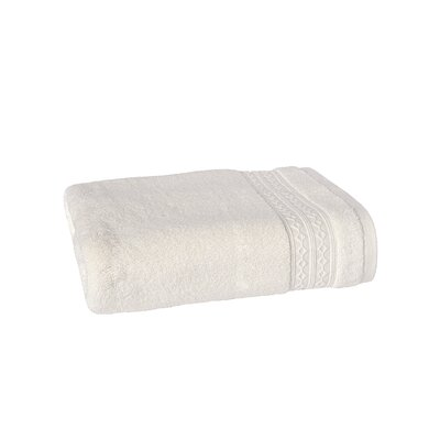 Solid Bath Towel Color: Oyster