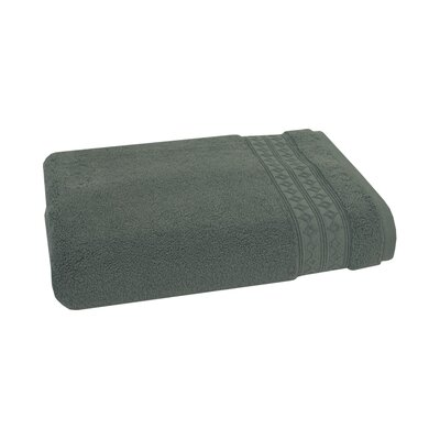 Solid Bath Towel Color: Blue