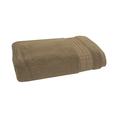 Solid Bath Towel Color: Pebble