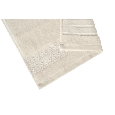 Solid Hand Towel Color: Oyster