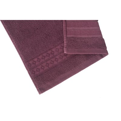 Solid Washcloth Color: Fig