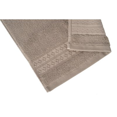 Solid Hand Towel Color: Pebble