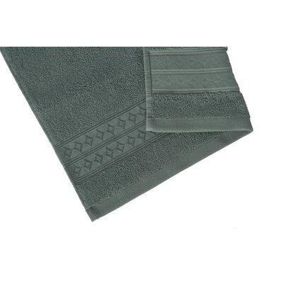 Solid Hand Towel Color: Blue