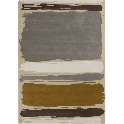 Dove Gray Area Rug Rug Size: Rectangle 3'3
