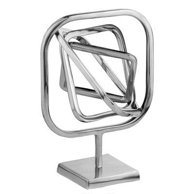 Hilar Square Rotating Armillary Sphere Figurine