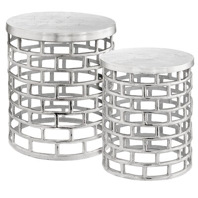 Ladrillo 2 Pieces Nesting Tables