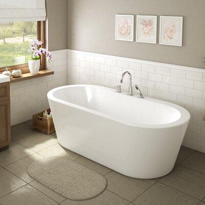 Una 71 x 34 Freestanding Bathtub