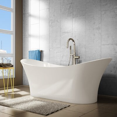 Evita 69 x 27 Soaking Bathtub