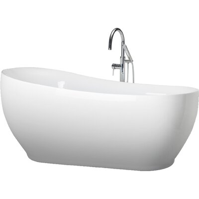 Oslo 71 x 33 Freestanding Soaking Bathtub