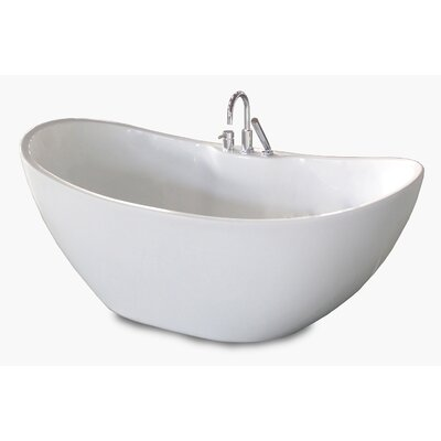 Turin 69 x 35.5 Freestanding Soaking Bathtub