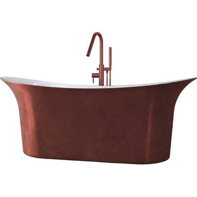 Cyclone 66 x 30 Freestanding Soaking Bathtub