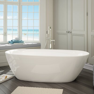 Sequana 71 x 21 Freestanding Soaking Bathtub Kit