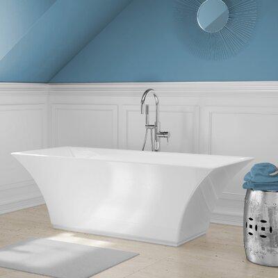 Abzu 67 x 23 Freestanding Soaking Bathtub Kit