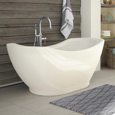 Salacia 67 x 28 Freestanding Soaking Bathtub Kit