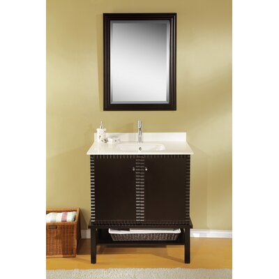 Simba 32 Single Bathroom Vanity Set with Mirror