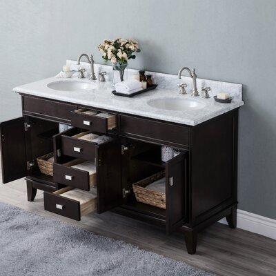 Hyslop 60 Double Bathroom Vanity Set