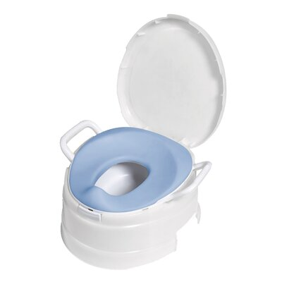 Primo 4 in 1 Soft Seat Toilet Trainer and Step Stool in White at Sears.com