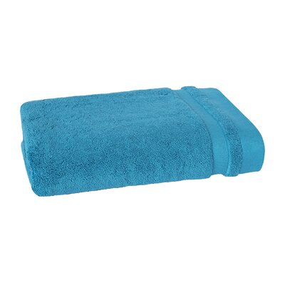Mr. Fox Solid Bath Towel Color: Peacock