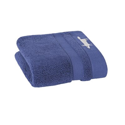 Mr. Fox Solid Hand Towel Color: Lake