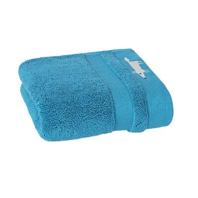 Mr. Fox Solid Hand Towel Color: Peacock