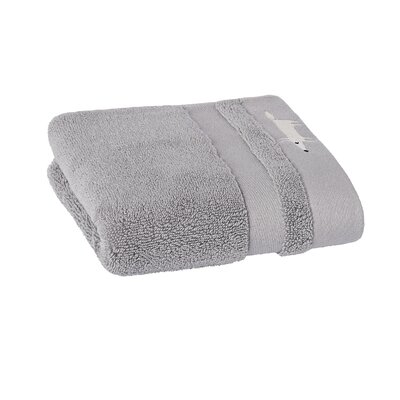 Mr. Fox Solid Hand Towel Color: Slate