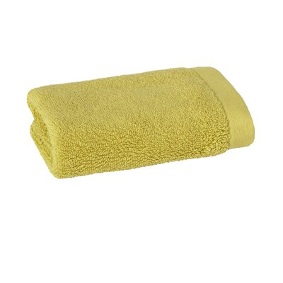 Mr. Fox Solid Washcloth Color: Citrus