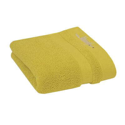 Mr. Fox Solid Hand Towel Color: Citrus