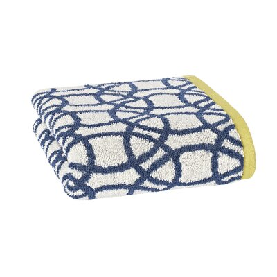 Lace Hand Towel Color: Indigo