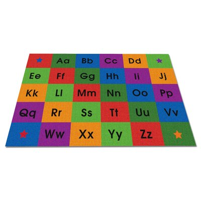 Row by Row Alphabet Kids Rug Rug Size: 76 x 12