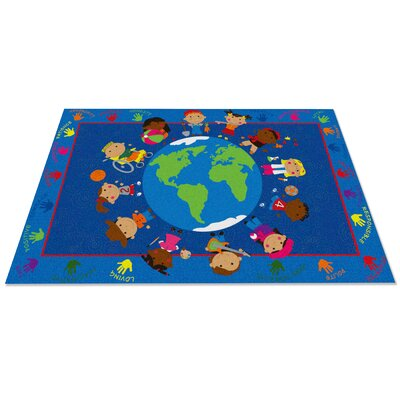 World Character Classroom Kids Area Rug Rug Size: 4 x 6