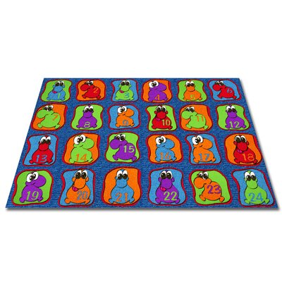 Cute Little Creatures Seating Kids Rug Rug Size: 4 x 6