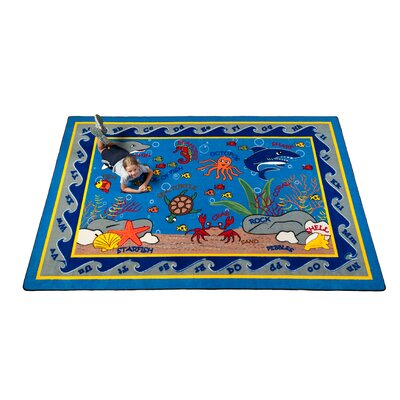 Fish in the Sea Area Rug Rug Size: Rectangle 6 x 86