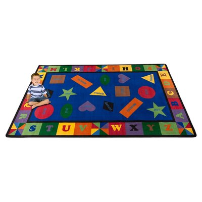 Colorful Shapes Area Rug Rug Size: 76 x 12