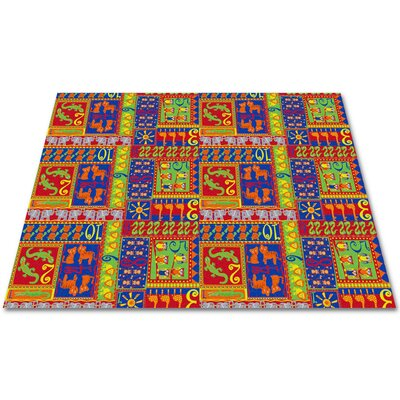 Counting Animals Kids Rug Rug Size: Square 6