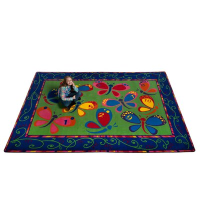 Learning on the Fly Kids Rug Rug Size: 4' x 6'