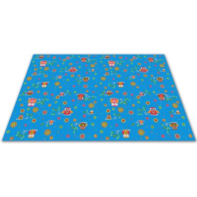 Counting Owls with ABCs Kids Rug Rug Size: Square 12