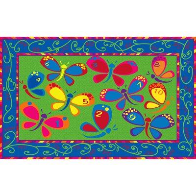 Learning on the Fly Kids Rug Rug Size: Rectangle 6 x 86