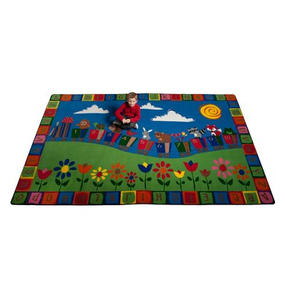 On the Train Indoor/Outdoor Area Rug Rug Size: 76 x 12