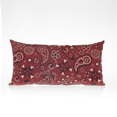 Happy Trails  Bandana Cotton Lumbar Pillow Size: 11 H x 20 W