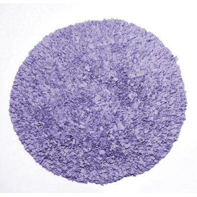 Lulu Round Lavender Area Rug
