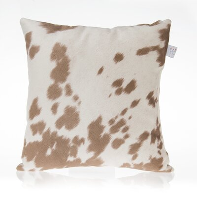 Happy Trails Cotton Throw Pillow