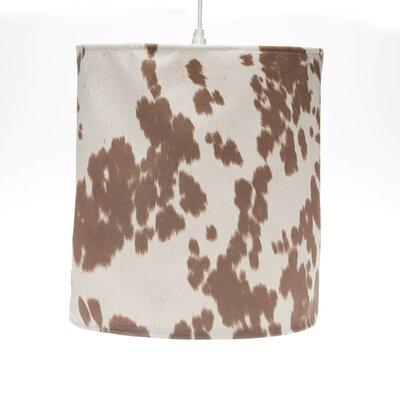 Happy Hanging Trails 14 Fabric Drum Pendant Shade