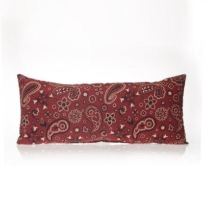 Happy Trails  Bandana Cotton Lumbar Pillow Size: 11 H x 27 W