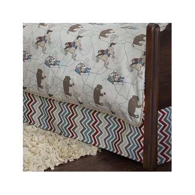 Happy Trails Bed Skirt Size: Queen