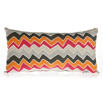 Calliope Chevron Cotton Lumbar Pillow