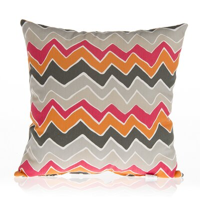 Calliope Chevron Cotton Throw Pillow