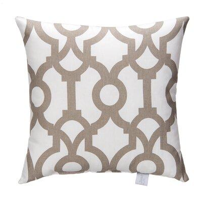 Soho Fretwork Cotton Throw Pillow