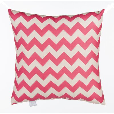 Pippin Chevron Cotton Throw Pillow