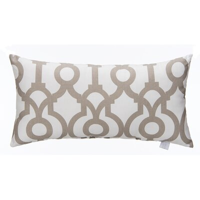 Soho Fretwork Cotton Bolster Pillow